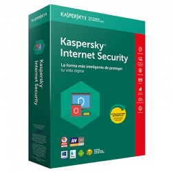 ANTIVIRUS KASPERSKY INTERNET SECURITY 2018 - 1 LIC